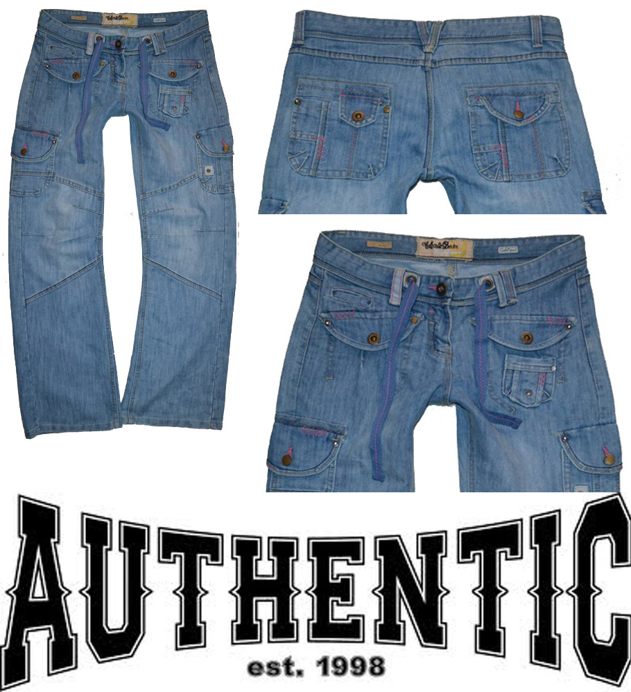 DÁMSKÁ džíny zn. AUTHENTIC DENIM vel. 42(14)