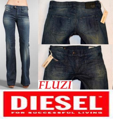 NOVÉ ZBOŽÍ Dámské džíny zn. DIESEL FLUZI vel. bbd52ce31f