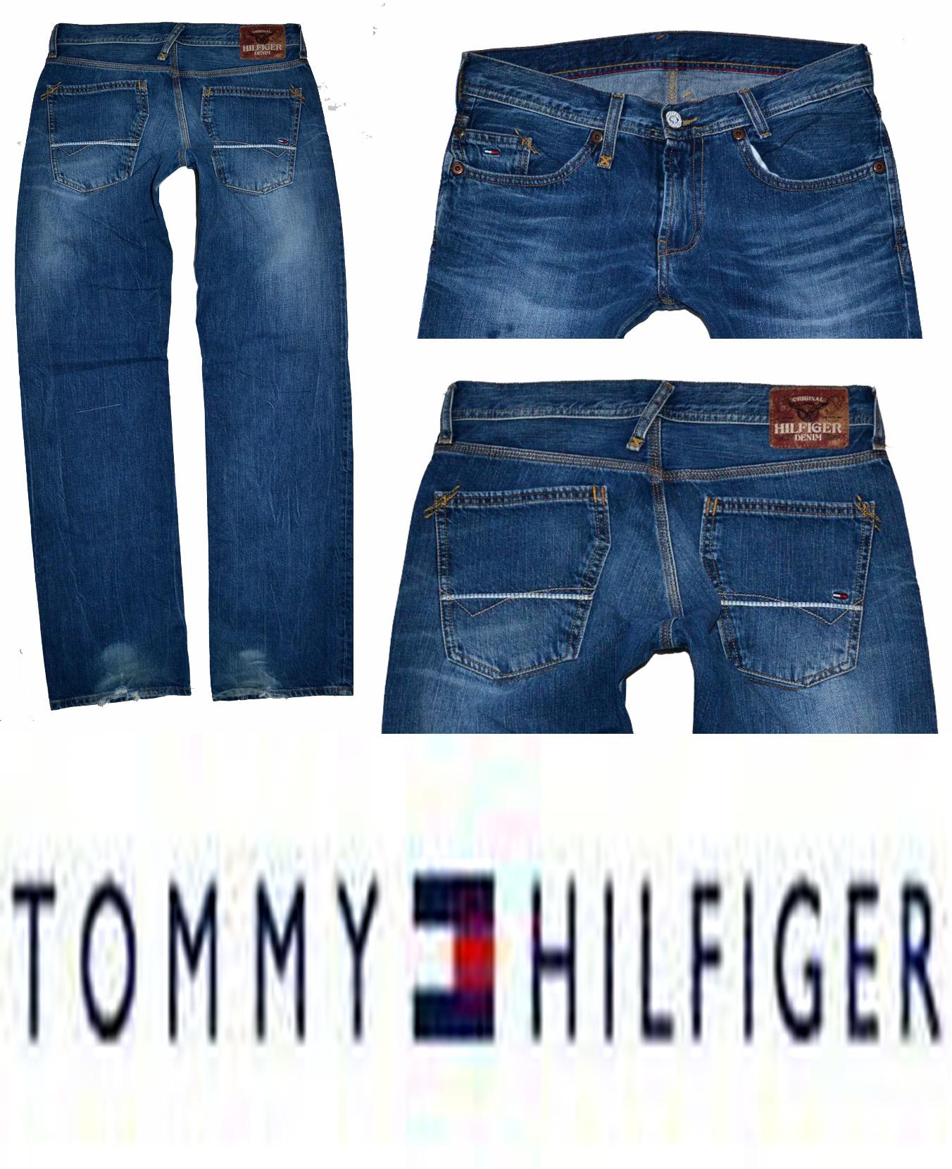 3cccd9decae PÁNSKÉ džíny zn. TOMMY HILFIGER vel. W30 L34