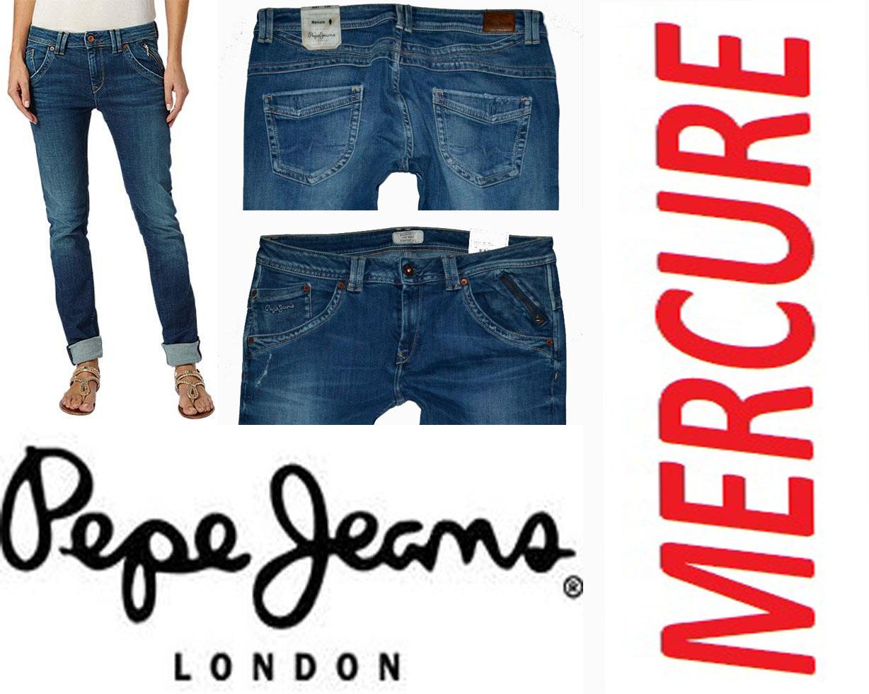 Dámské džíny zn. PEPE JEANS MERCURE vel. 32 34 5f97ace668