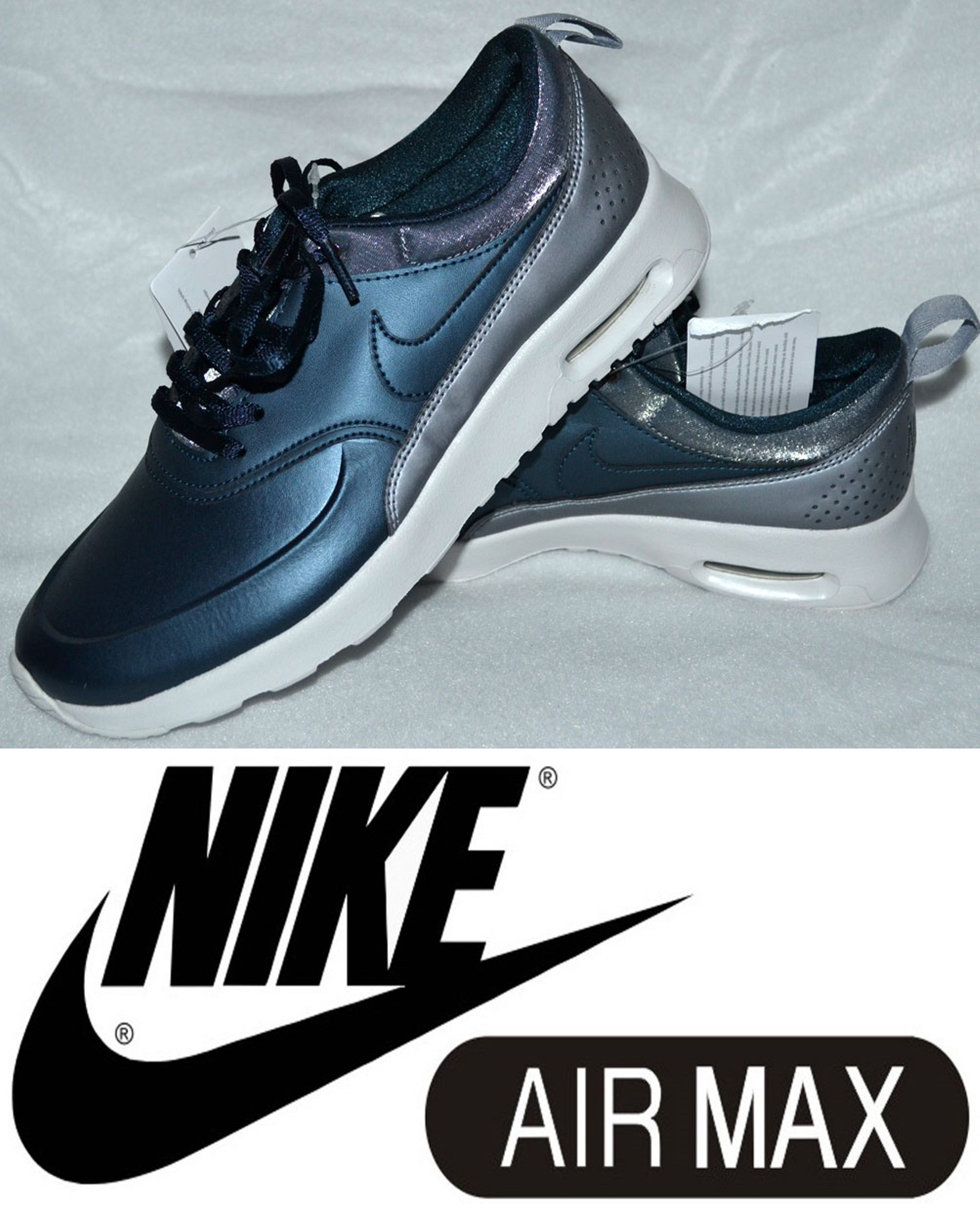METALICKÉ Tenisky zn. NIKE AIR MAX THEA vel. 38