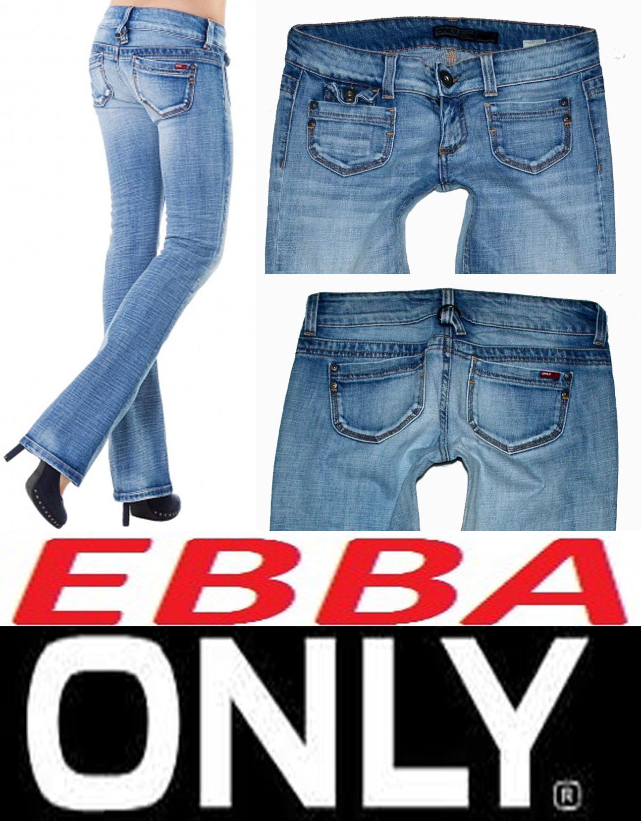 Džíny s elastanem zn. ONLY EBBA vel. 30 32 empty !!! 0e65cef541