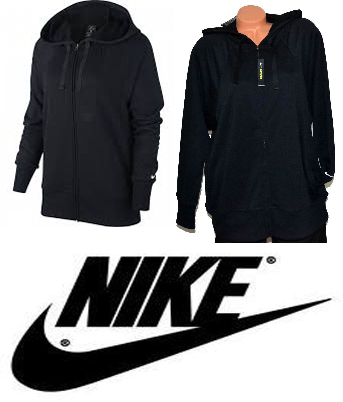 Mikina zn. NIKE LOOSE FIT vel. L